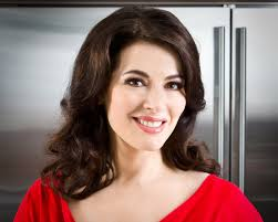 Nigella Lawson spoke about the feisty fragrance of a spicy sauce.